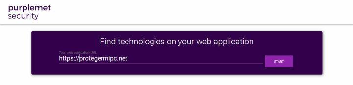 Purplemet, escaneo de aplicaciones web para conocer sus tecnologías