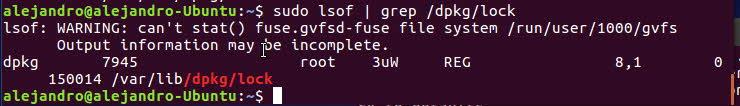 Usar comando lsof en Linux