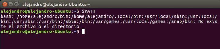 Ver $PATH en Ubuntu