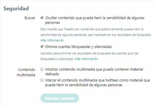 Como proteger cuenta de Twitter 3