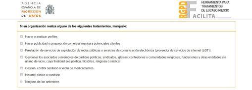 Herramienta Facilita - AEPD - RGPD (3)