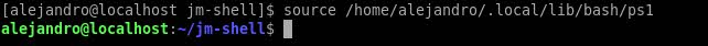 jm-shell linux 1