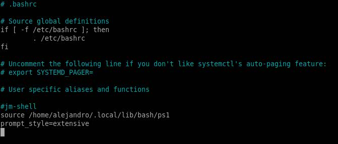 jm-shell linux 7