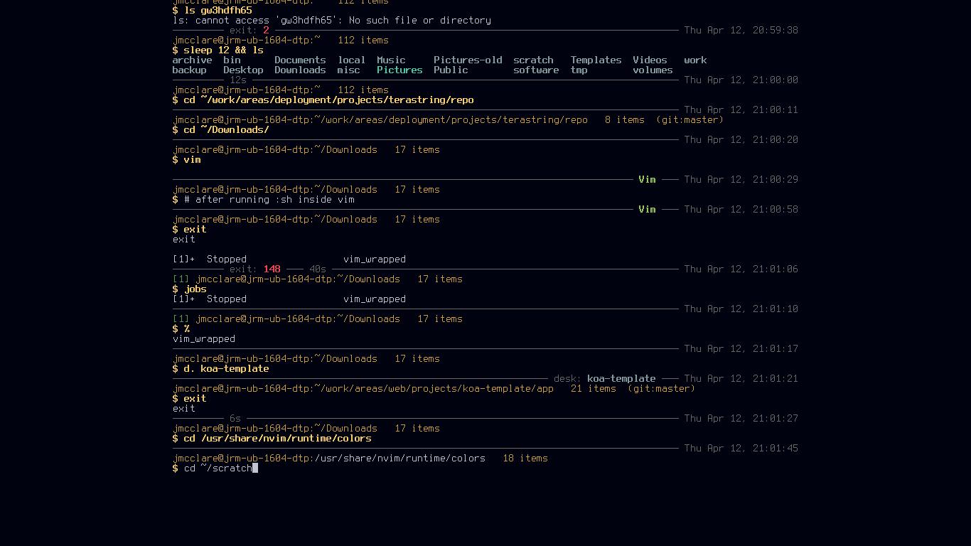 Usando Jm-shell para personalizar el terminal de Linux