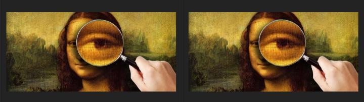 Archivo oculto con esteganografía vs archivo original