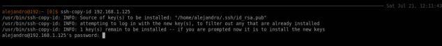 Generar claves SSH en Linux
