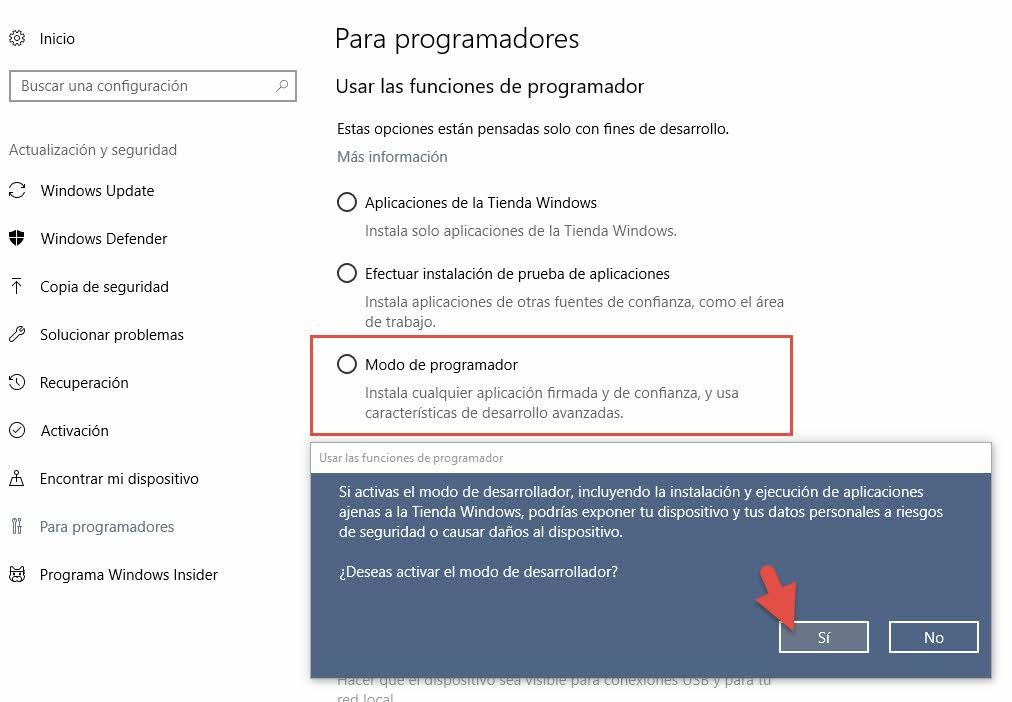 Instalar bash en Windows 10