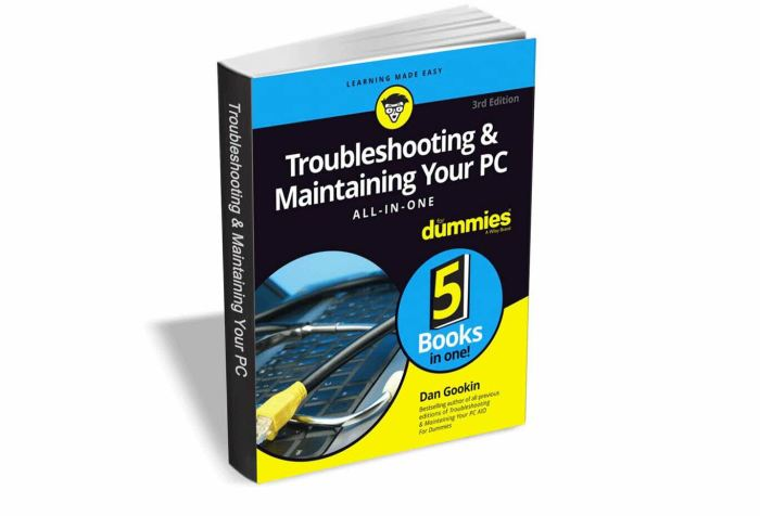 Libro gratuito - Diagnosticar y mantener tu PC para Dummies