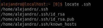 Par de claves SSH