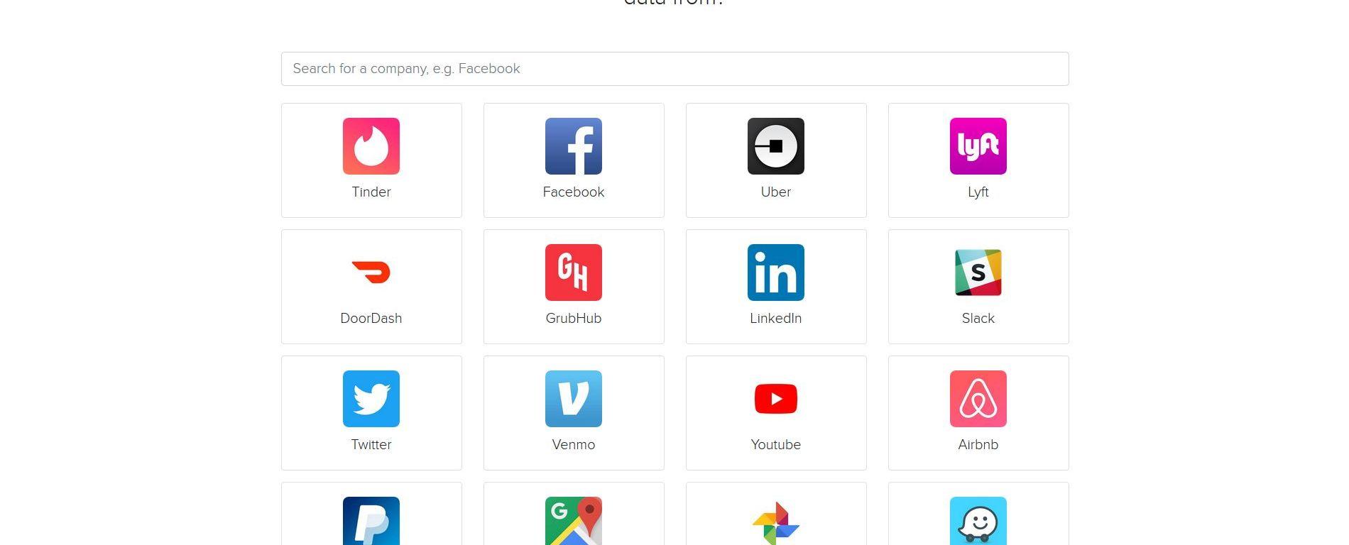 Solicitar datos personales de internet con mydatarequest.com