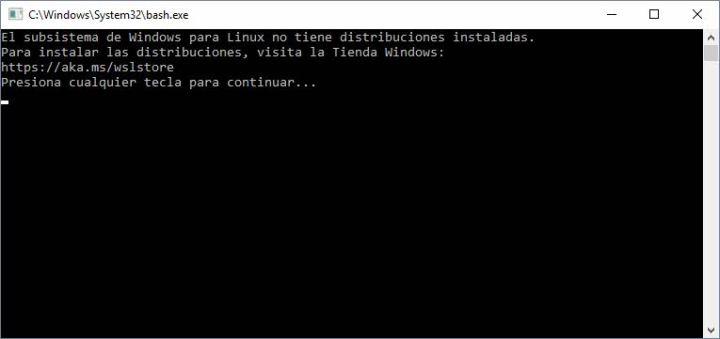 Usar Linux en Windows 10