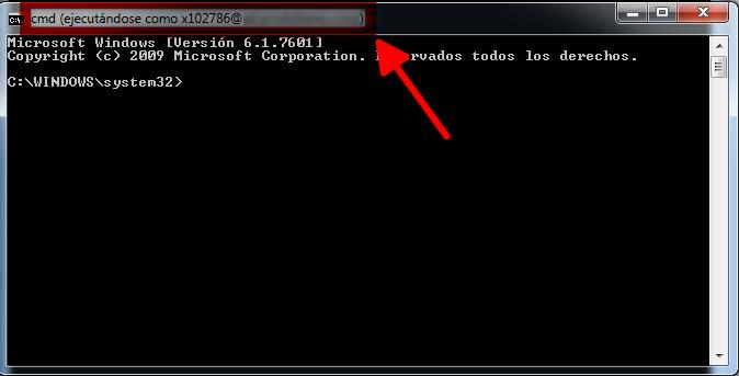 Ejemplos de uso del comando RUNAS en Windows (2)