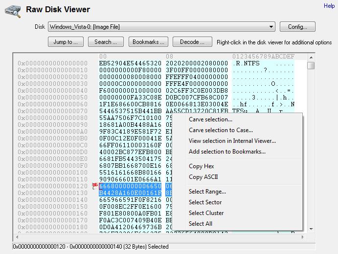 raw-disk-viewer Osforensics