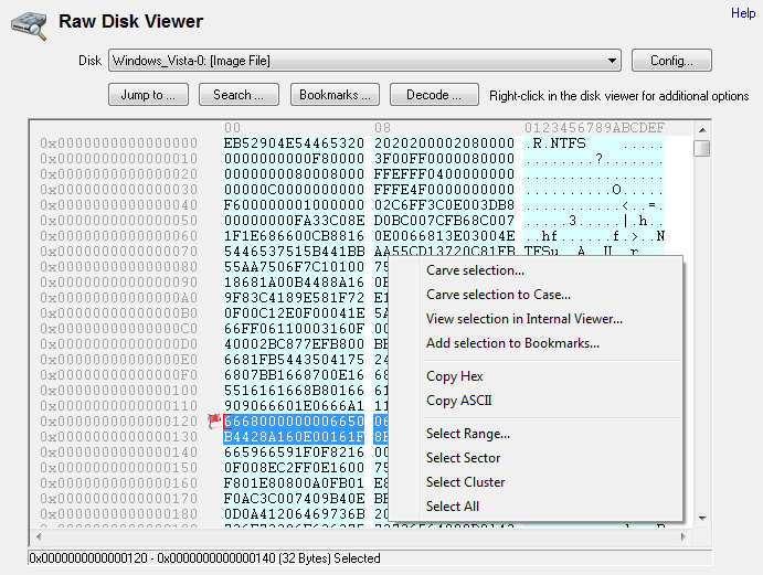 raw-disk-viewer Osforensics