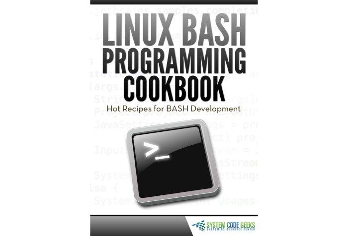 Descargar libro de programación en bash (Linux)
