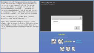 Linux survival - terminal de Linux online