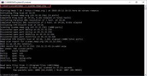 nmap escaneo de puertos tcp básico