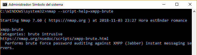 Ayuda para scripts Nmap