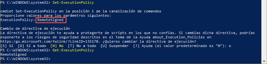 Powershell Set-ExecutionPolicy