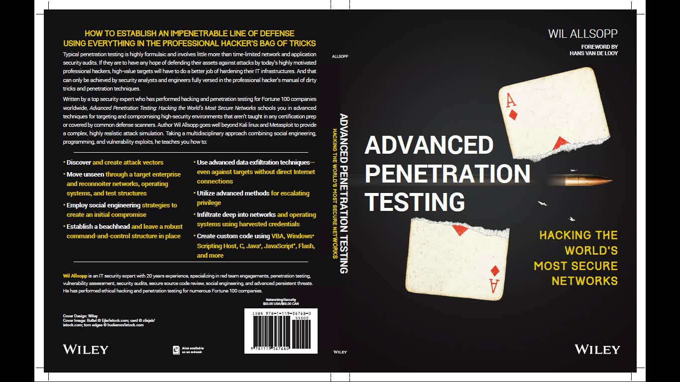 descarga este libro de pentesting gratuito de wiley
