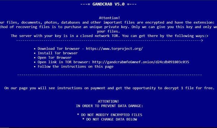Disponible un decrypter para nuevas versiones del ransomware GandCrab
