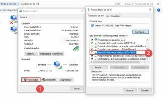Deshabilitar tcp-ip v6 windows 10