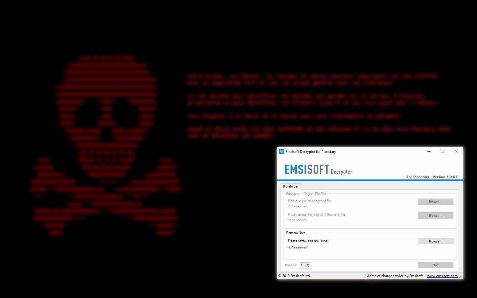 Las víctimas del ransomware Planetary ya pueden descifrar sus