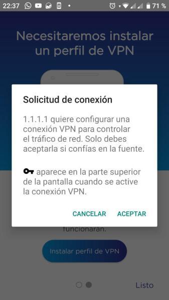 WARP VPN 3