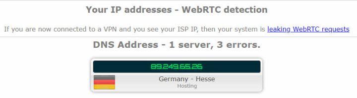 WebRTC leak 2