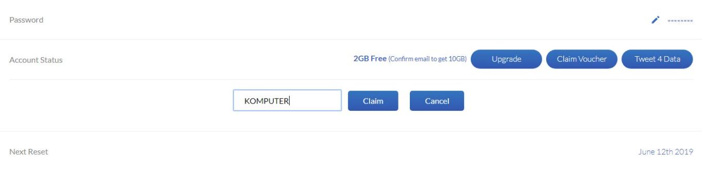 50 GB gratis Windscribe VPN