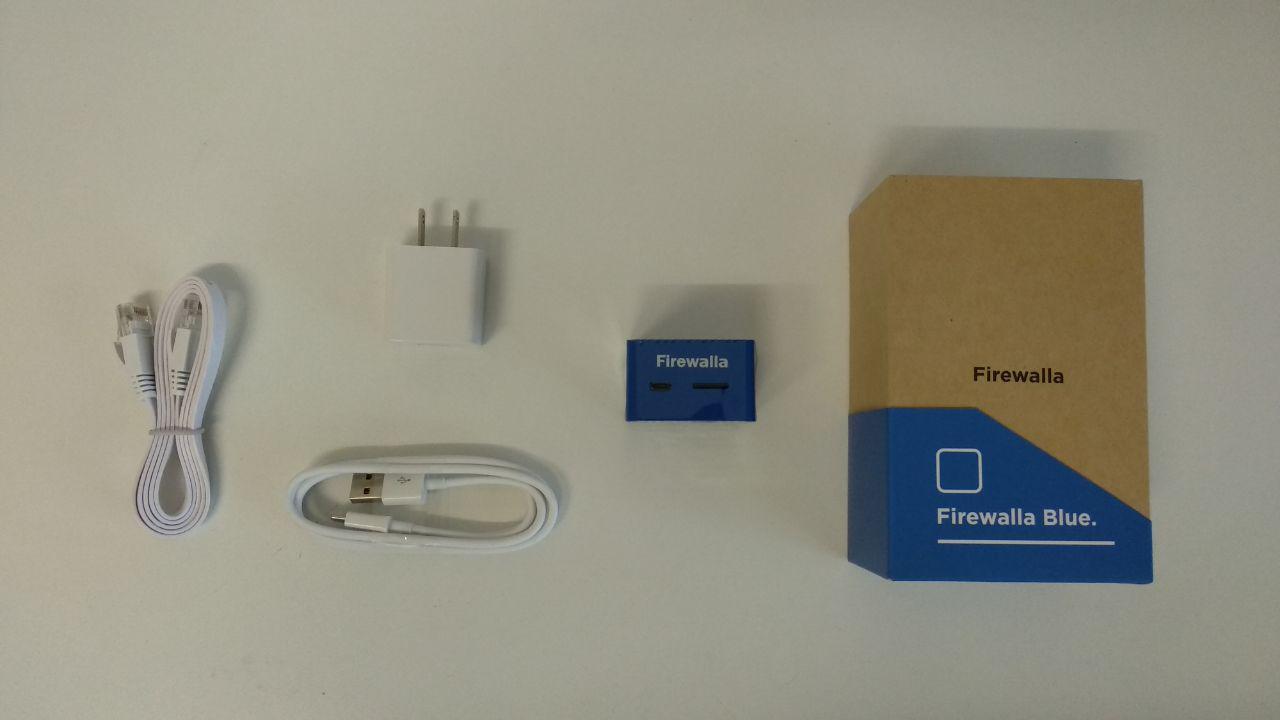 Firewalla Blue, contenido del paquete