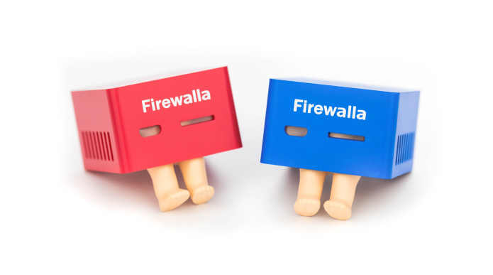Firewalla red vs Blue