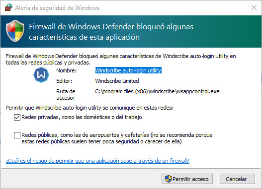 Instalar Windscribe Windows 2