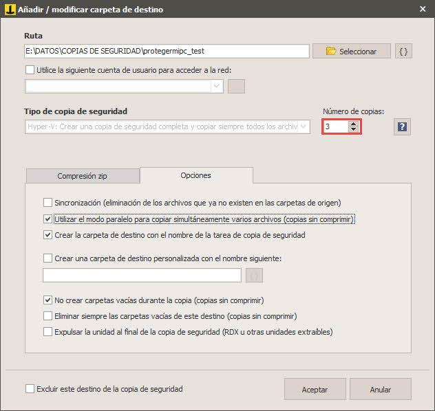Iperius - Copia de seguridad de máquina virtual HyperV 7