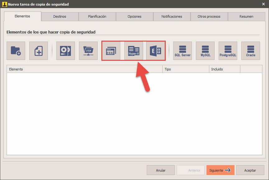 Iperius - Copia de seguridad de máquina virtual HyperV