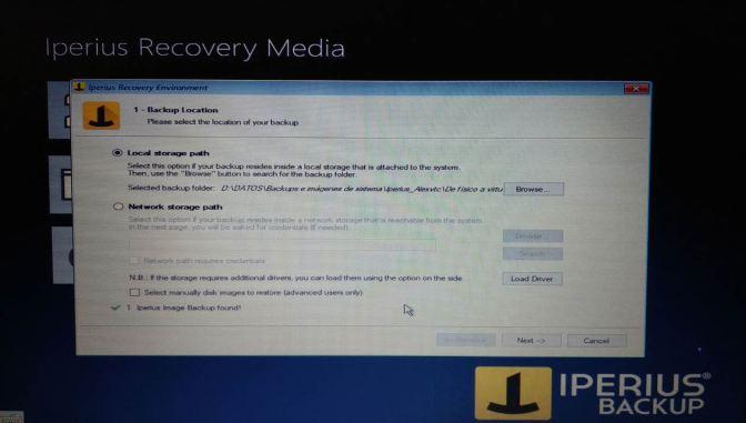 Iperius recovery media 1