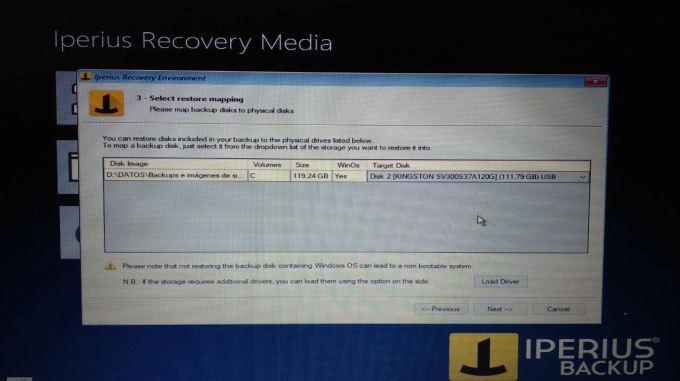 Iperius recovery media 2