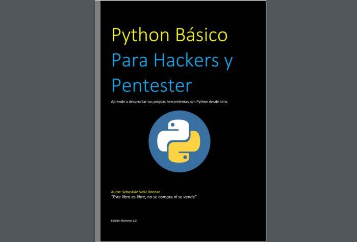Python Básico Para Hackers y Pentester (libro gratuito)
