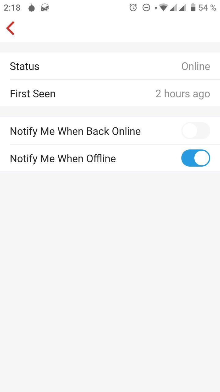 Review de Firewalla - Opciones de host