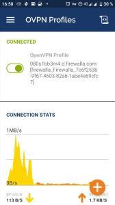 Review de Firewalla - VPN (funcionamiento Android)