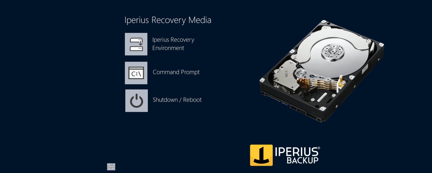 Review de Iperius backup, sistema de backup completo para HyperV y VMWare ESXi