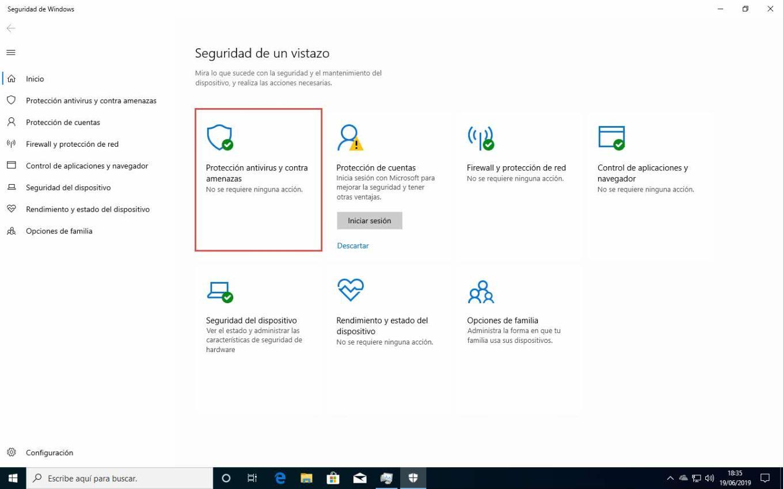 Como habilitar la protección contra alteraciones en Windows Defender