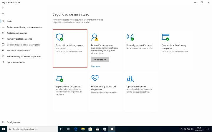 Como habilitar la protección contra alteraciones en Windows Defender