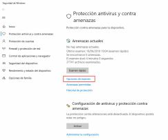 Examen de Windows Defender sin conexión
