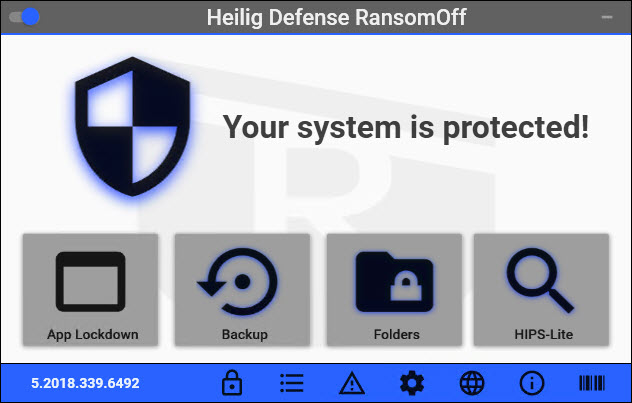Heilrig Defense RansomOff - Antiransomware