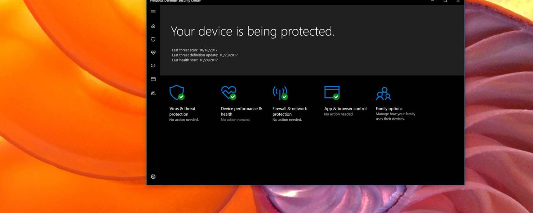 Examen de Windows Defender Offline