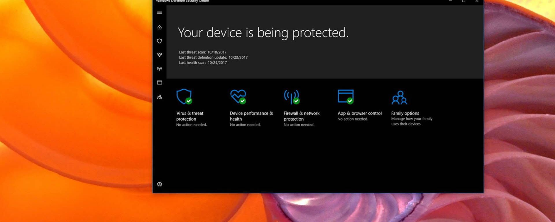 Examen de Windows Defender Offline