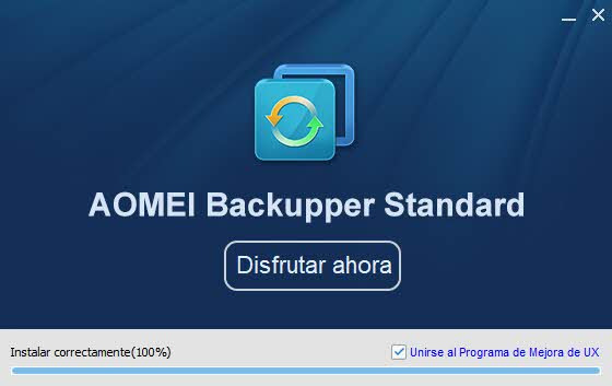Review de AOMEI Backupper 4
