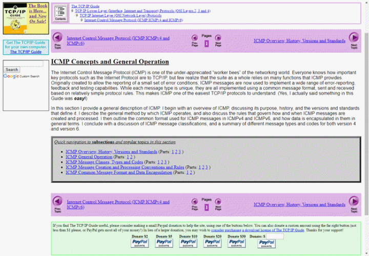 Versión online de The TCP-IP Guide