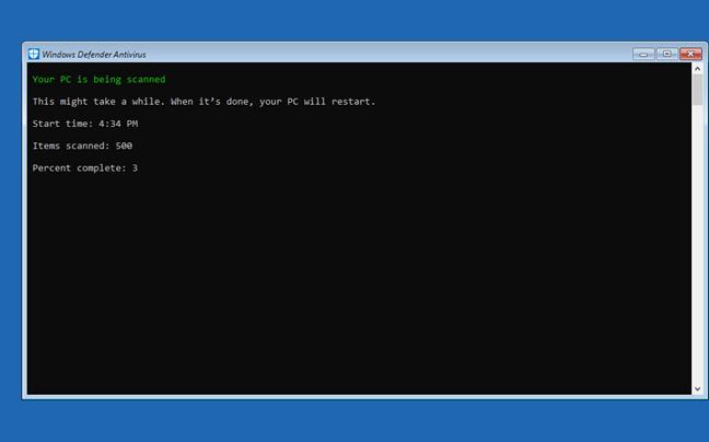 Windows Defender Offline 2
